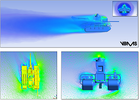 CFD Subsea Equipment Parametric Flow Loads