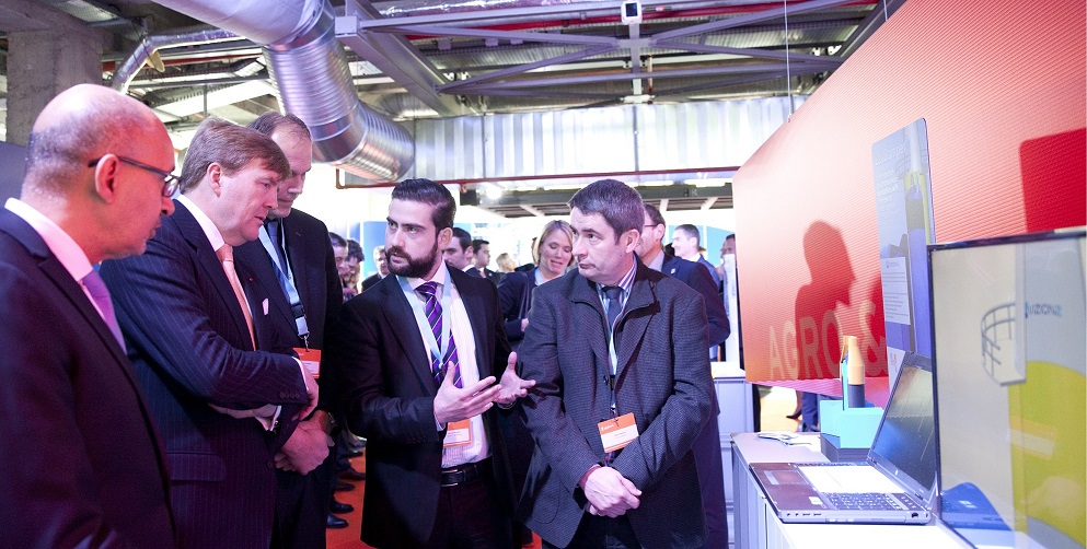 VizionZ trade mission France Willem-Alexander