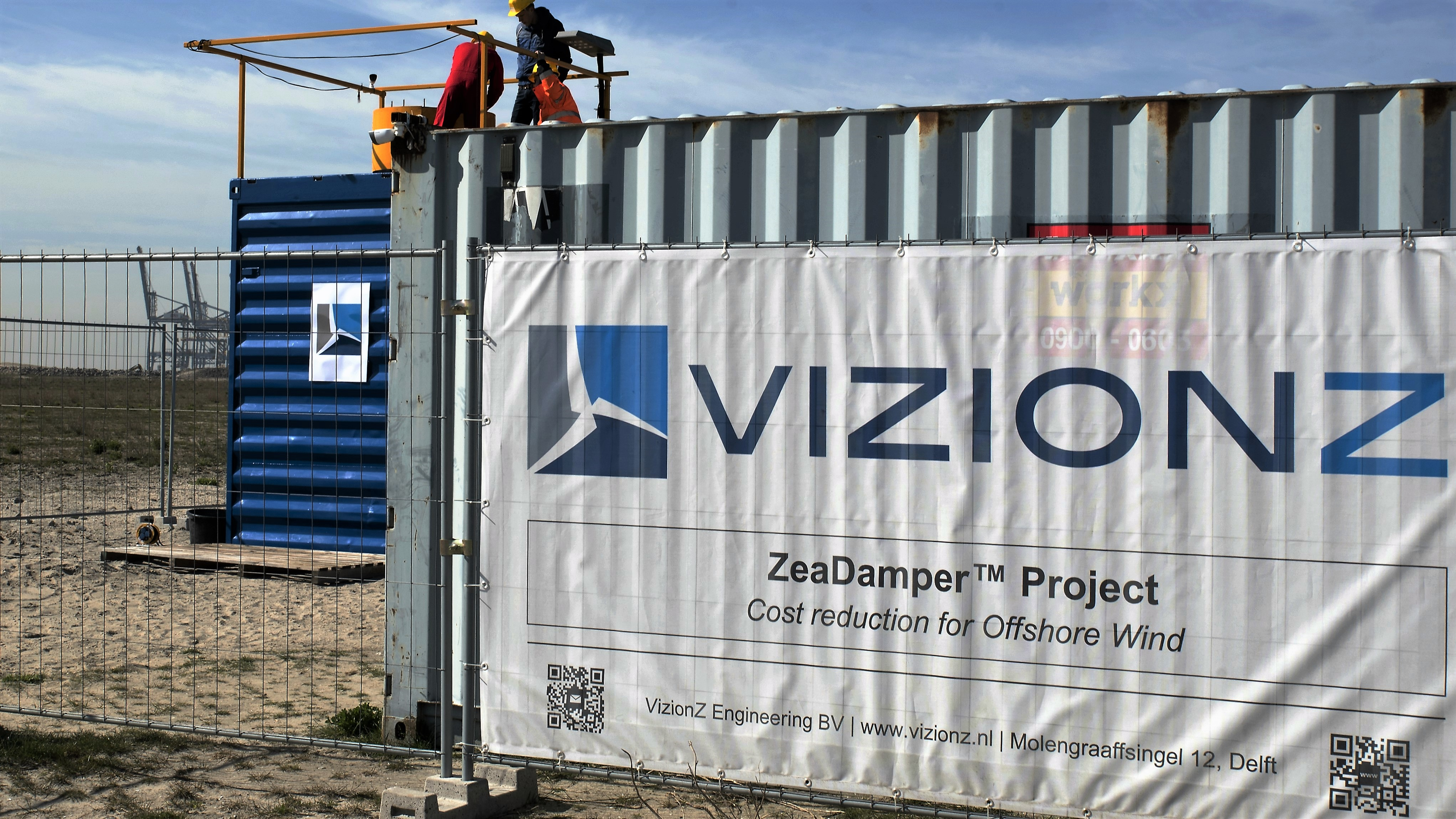 VizionZ Engineering Test and Demonstration Site Port of Rotterdam